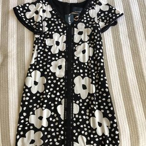 Floral dress with flutter sleeves NWT